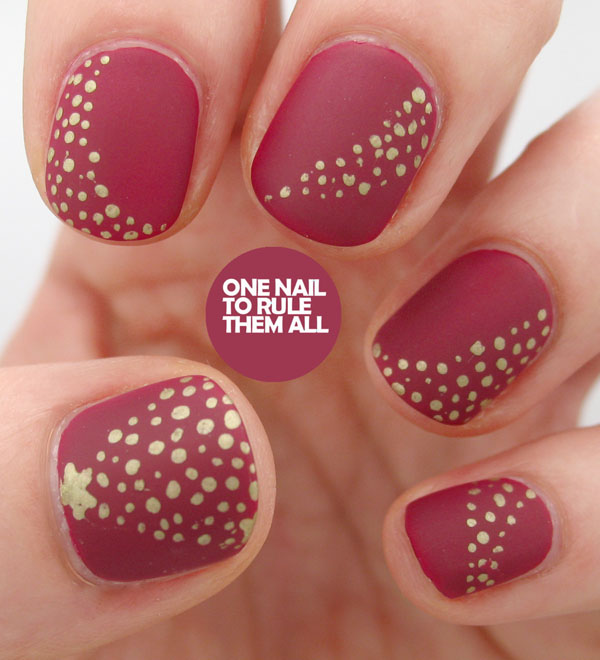 Awesome Christmas Nail Styles Model Nail Art Design Ideas