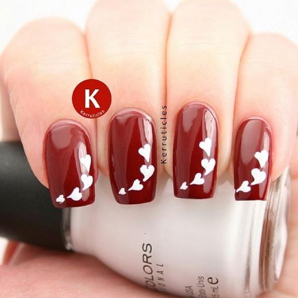 60 Adoring Valentine\'s Day Nail Art Ideas