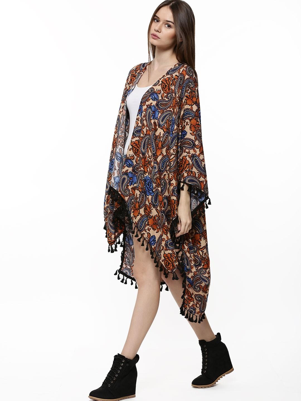 White Fringe Kimono