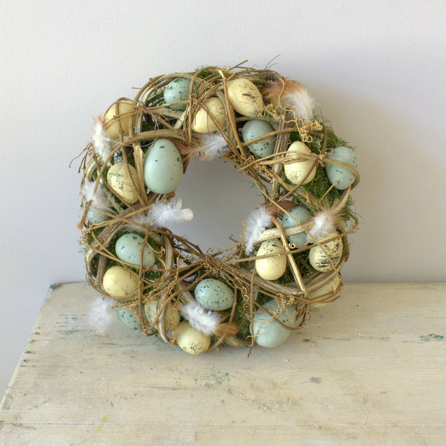 75 Beautiful DIY Spring Easter Wreaths Ideas