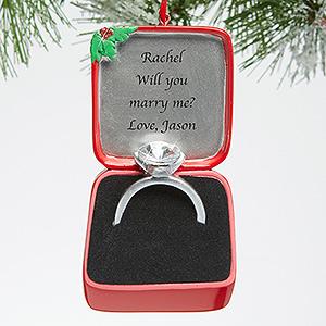 25 Beautiful Christmas Engagement Ornaments ⋆ BrassLook