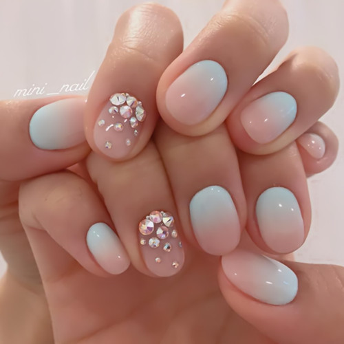55 Cute Summer Nails Art Designs 2018 ⋆ BrassLook