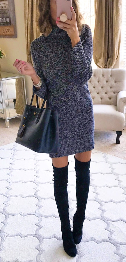 585d6039c55 Winter Fashion  45 Cute Winter Outfits to Copy Now ⋆ BrassLook