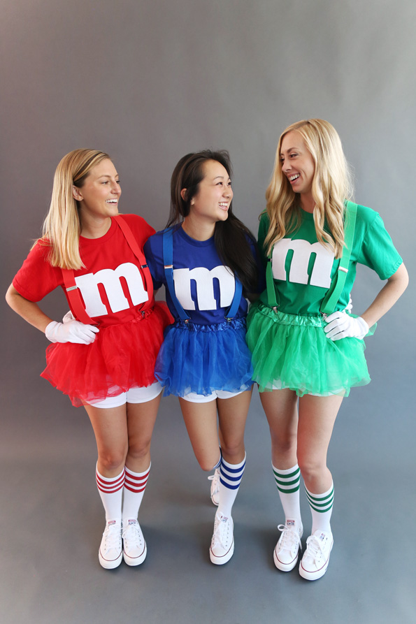#25 Are you looking for a Mu0026M Costume? Pic source  sc 1 st  BrassLook & All-time 40+ Best Halloween Group Costume Ideas - BrassLook
