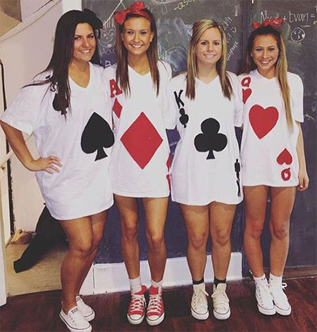 #23 Group Halloween Costume Ideas. Pic source  sc 1 st  BrassLook & All-time 40+ Best Halloween Group Costume Ideas - BrassLook