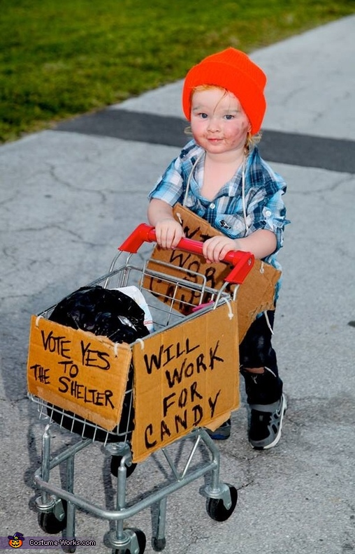 Homeless Toddler in Key West Costume  sc 1 st  BrassLook & 20+ Toddler Halloween Costumes Ideas and Inspirations - BrassLook