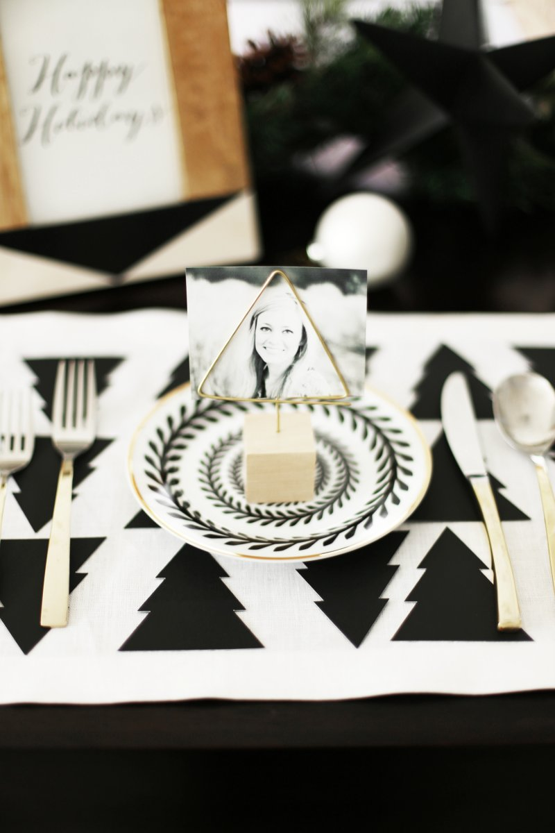 20 Cute Holiday and Christmas Place Card Holders ⋆ BrassLook