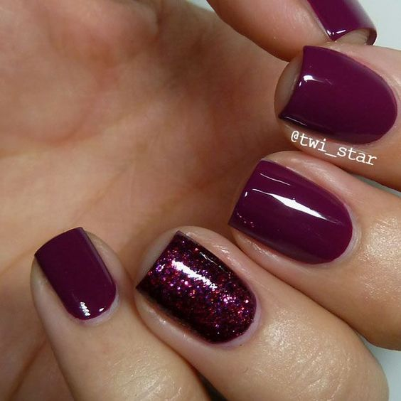 25 Burgundy Nail Art Ideas That S Clever And Cultured